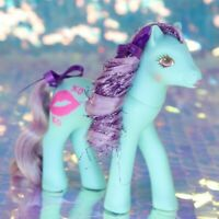 Vintage My Little Pony RUBY LIPS Sweet Kisses Sweetheart Sister XO G1 MLP BH633