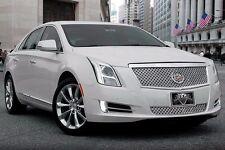2013-2015 Cadillac XTS Platinum Classic Dual Weave 2pc Grille E&G 1001-0104-13DP
