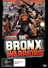 1990 THE BRONX WARRIORS - RARE NEW & SEALED DVD