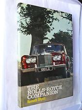 THE ROLLS ROYCE COMPANION BOOK MANUAL SILVER WRAITH DAWN CLOUD PHANTOM SHADOW V