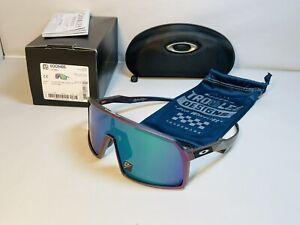 New Oakley Sutro Sunglasses Troy Lee Design Purple Green Frame Prizm Jade Lens