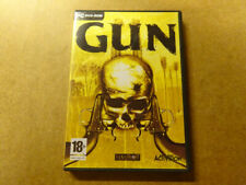 PC GAME / GUN (ACTIVISION, NEVERSOFT) (CD-ROM)