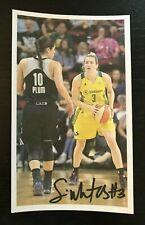 SAMI WHITCOMB WNBA Seattle Storm Autographed Signed Custom 3x5 Index Card