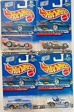 Hot Wheels Speed Blaster Series 1:64 Scale Diecast (Complete set of 4 cars)