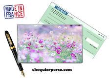 fleurs floral 02-005 protège porte chéquier format portefeuille