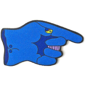 THE BEATLES Yellow Submarine Dreadful Flying Glove IRON-ON PATCH Official Merch