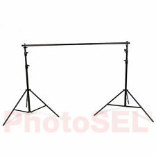 PhotoSEL BS104 Background Support System Backdrop Stand 2.7m (H) x 3m - 1.5m (W)