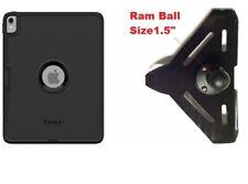 "SlipGrip RAM 1.5"" Ball Mount Made For Apple iPad Pro 12.9 3rd Gen  Defender Case"