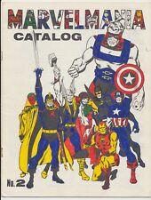 Marvelmania Catalog #2, Marvel Comics 1970