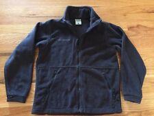 COLUMBIA VERTEX Youth Fleece Jacket, Black 10/12 Boys Girls Unisex Kids
