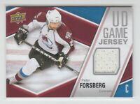 (70903) 2011-12 UPPER DECK GAME JERSEY PETER FORSBERG #GJ-PF