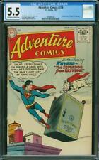 Adventure Comics #210 CGC 5.5 DC 1955 1st Krypto! Superdog! Superman! L6 201 cm
