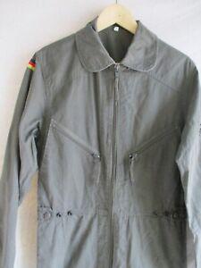 German vintage army military green cotton jumpsuit flight tank suit 9