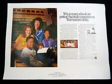 Vintage Poster Sign Ad Apple MACINTOSH COMPUTERS schools Test Print Proof 1992