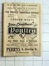 1964 Peris Of Alverton Street, Penzance For Your Christmas Turkey