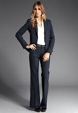 THEORY NWT $1100 SALE!! 'GABE B /MAX C TAILOR' Stretch Wool INDIGO PANT SUIT 6