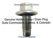 Genuine Holden Sump Plug & Seal VZ,VE Commodore, HSV V6 V8 Gen 3 #11562588