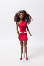 Mattel Barbie Puppe inkl. Outfit schwarz braun Afro Afroamerikaner Christie V12