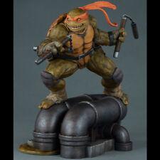 SIDESHOW TMNT Teenage Mutant Ninja Turtles Michelangelo Statue Figure NEW