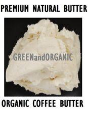 Premium Quality 100%Organic Coffee Butter Unrefined Virgin Raw Cold Pressed 2 oz