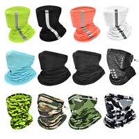 Sport Bandana Neck Gaiter Face Scarf Sun Shield Balaclava Neck Warmer Men Women