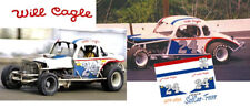 CD_2832 #24 Will Cagle  modified coupe     1:43 scale DECALS