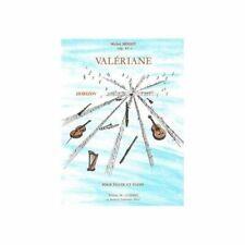 Partitions classique COMBRE MERIOT MICHEL - VALERIANE - FLUTE ET PIANO Flûte