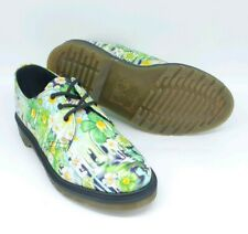 Dr Martens 1461 Paint Slick Floral Oxford US Mens 7/Wom 8 (UK 6) -  NEW in Box!
