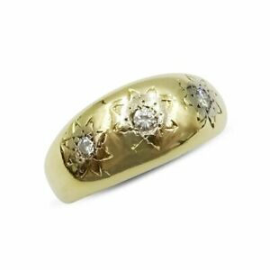 Pre-owned 18ct Gypsy Diamond Ring 0.11ct