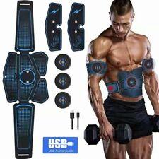 USB Charging 7 in 1 ABS Stimulator EMS Muscle Training Toner Abdominal Belt