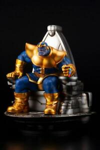 In STOCK Kotobukiya MARVEL THANOS ON SPACE THRONE FINE ART STATUE