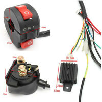 Wiring Harness Loom Solenoid Coil Rectifier Fit 50 70 90 110 125cc ATV Scooter