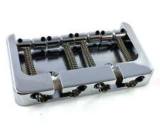 Hipshot Chrome/Brass B Series Bass Bridge String Thru Fender P/Jazz® 5B400C-FM2