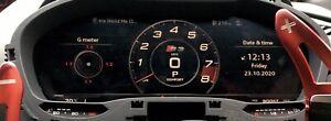 2013-2019 Audi A3, S3, RS3 Virtual Cockpit Clocks, Speedo Instrument Cluster,17k