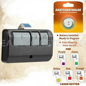 For Chamberlain LiftMaster Garage Door Opener Remote 893LM 953EV-P2 Learn