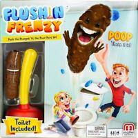Mattel Games - Flushin' Frenzy [New ] Table Top Game, Toy