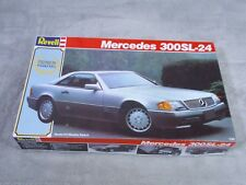 Revell Mercedes 300SL-24 1/24 Scale Model Car Kit  #7437 Made USA 1990