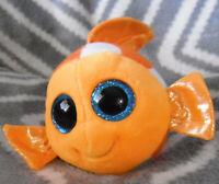 *1902a*  TY Beanie Boos -  Sami the orange Fish - plush