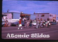 1963 Kodachrome photo slide Parade Saskatchewan Canada #3  CJNB