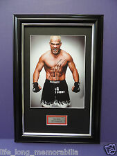 TITO ORTIZ UFC LEGEND SIGNED FRAMED PHOTO