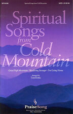 Spiritual Songs From Cold Mountain Vocal Choral Learn Sing Play Piano Music Book