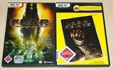 2 PC SPIELE SET FEAR & DEAD SPACE - FSK 18