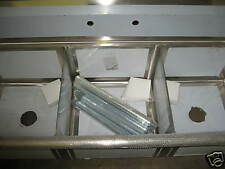 Sink - 3 Compartment w/ Right Side Drainboard.BRAND NEW