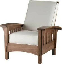 "MISSION STYLE CHAIR --""DIY ""-- UNFINISHED FURNITURE KIT -- ASH WOOD CONSTRUCTION"