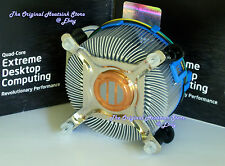 GENUINE INTEL HEATSINK COOLING FAN FOR CORE 2 EXTREME QX6700-QX6800-QX6850 NEW