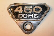 COPERCHIO LATERALE emblem badge side cover, emblema HONDA CB 450 K