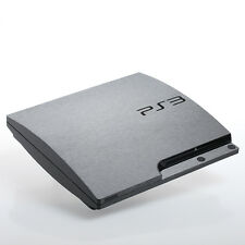 Brushed Slate PS3 slim Textured Skins -Full Body Wrap- decal sticker cover