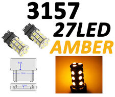 3156/3157 T25 27 SMD 5050 LED Yellow Amber Tail Turn Signal Car Light Bulb Lamp