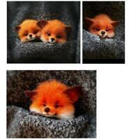süße Filz Brosche handgemachtes Material Katze Fuchs DIY Waschbär Hund best V9Q1