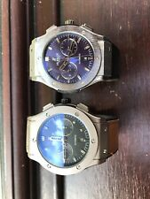 Two Hublot Bling Watches